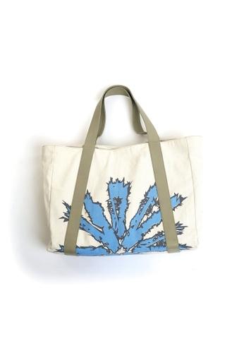 Akosée blue Akosée Beach Bag F8D64AC90456FFGS_1