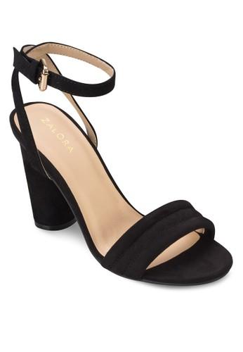 簡約圓粗跟涼鞋, 女esprit 特賣鞋, 鞋