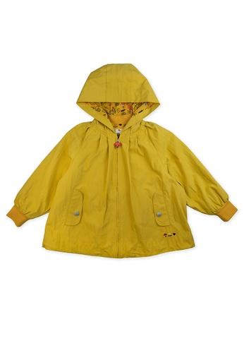 Vauva yellow Vauva Kids Yellow Jacket with Mushroom Zipper 6F493KA8230AFEGS_1