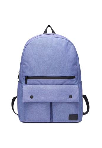 The Dude blue Urbanist Backpack TH373AC51NBWHK_1