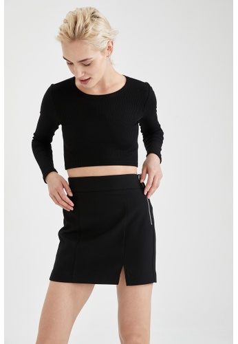 DeFacto black Mini Skirt 0A7ABAA8A3346BGS_1