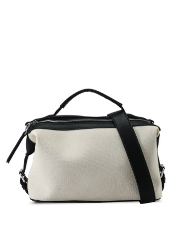 Keddo black and white Rosalyn Slingbag 70940ACA8FC258GS_1