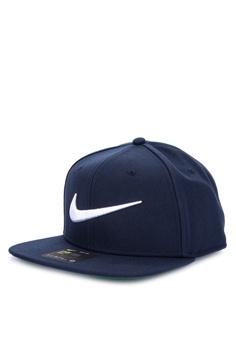 ad2a28fa39f Nike navy Unisex Nike Sportswear Pro Swoosh Classic Hat 65BAAAC64C05BCGS 1