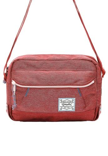 Caterpillar Bags & Travel Gear red Essential Original Shoulder Bag CA540AC82ISVHK_1