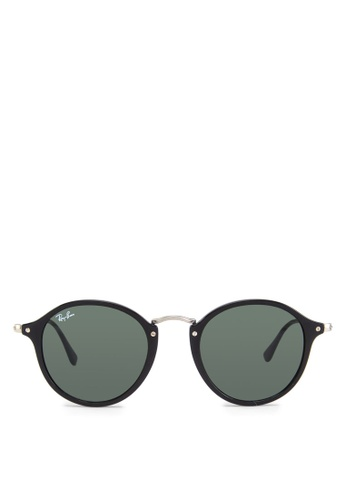 a7483bc7e44 Buy Ray-Ban Round Fleck RB2447 Sunglasses Online on ZALORA Singapore