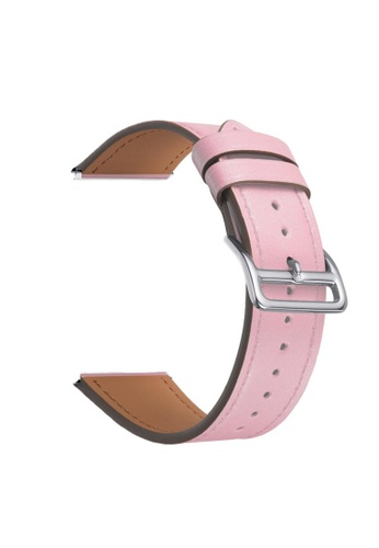 Kings Collection pink Pink Genuine Leather Apple Watch Band 42MM / 44MM (KCWATCH1044) 059B6ACC92523DGS_1