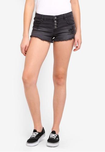 Billabong black Buttoned Up Shorts 4948DAAF07427AGS_1
