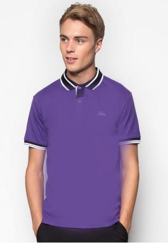 Conesprit hk分店trast Lining Collar Polo Tee, 服飾, Polo衫