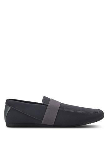 UniqTee grey Classic Textile Loafers UN097SH80RDFMY_1