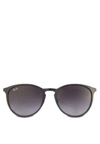 Ray-Ban grey Erika Metal RB3539 Sunglasses RA896GL11HLKMY_1