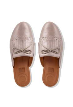 e91c8daa50a 36% OFF FitFlop Fitflop Superskate Fringe MTL Leather Blush  Metallic Nude  RM 470.00 NOW RM 299.00 Sizes 6