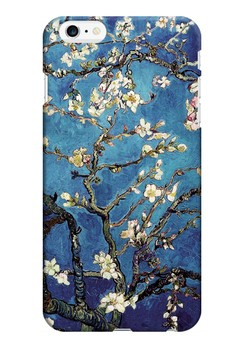 Almond Blossom Matte Hard Case for iPhone 6 Plus
