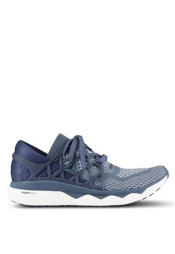 Reebok blue Supreme Floatride Ultraknit Shoes RE691SH0S9BLMY_1