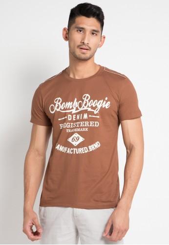 Bombboogie brown Frank Moca Tee 62844AAD5FE02CGS_1