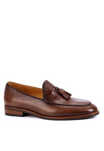 Twenty Eight Shoes Malmesbury Vintage Leather Loafers BL021-18 F7A35SH667F240GS_1