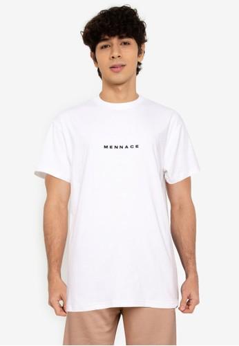 Mennace white Club Est T-Shirt DBD52AA50386A8GS_1