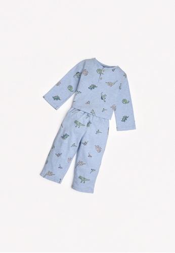 Gingersnaps multi Baby Boys Pop-Over Pajama Set E2BA5KA35F37FDGS_1