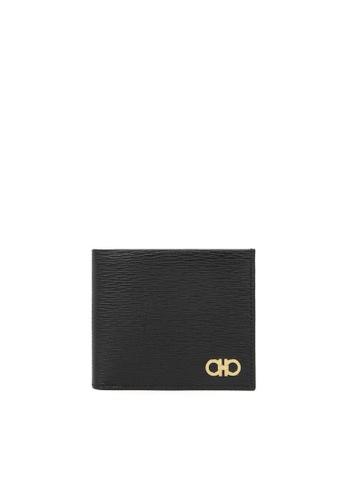 Salvatore Ferragamo black Logo Wallet 35CF9AC99B3479GS_1