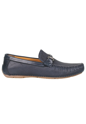 Tomaz blue Tomaz C359 Buckled Loafers (Navy) E769DSH9132DFDGS_1