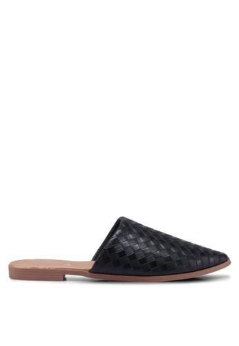 Rubi black Charlotte Soft Mule Slip Ons B1CAESH42E6B5CGS_1