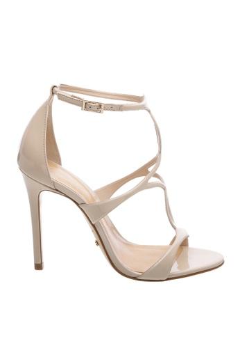 SCHUTZ white and beige SCHUTZ Strap Sandal - AMELIA (TANINO II) 0E05CSH1A1B9E4GS_1