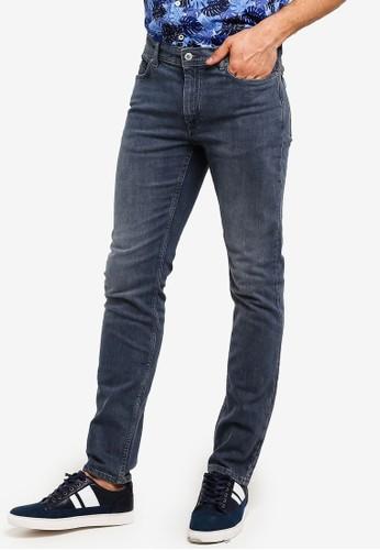 MANGO Man grey Slim-Fit Dark Grey Wash Jan Jeans 3A5A0AA008F6A7GS_1