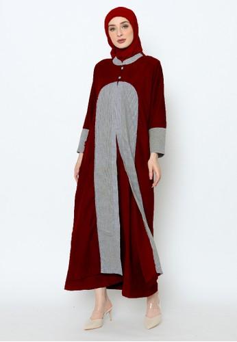 Edissy Fashion red Antalya Dress Rompi Codoray 86B4CAAD623353GS_1