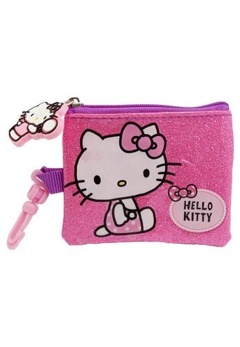Hello Kitty pink Hello Kitty Shinning Pink coin Purse 867B4KCF17F819GS_1