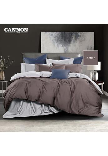 CANNON CANNON Morrison Bronetta - Antler (Quilt Cover Set). 45B1AHL5D4A495GS_1