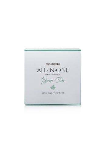 Mosbeau yellow MOSBEAU Spotless Green Tea Facial Soap 100g MO998BE84ZUPPH_1