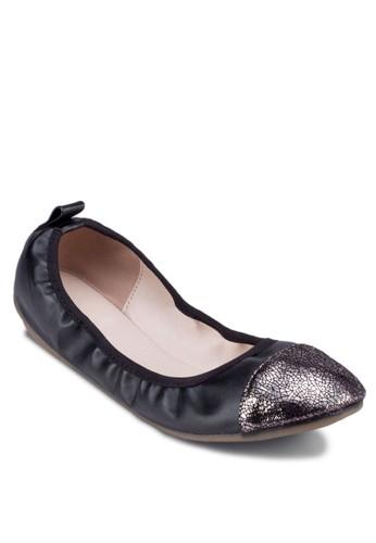 閃飾拼接彈性娃娃esprit tsim sha tsui鞋, 女鞋, 鞋