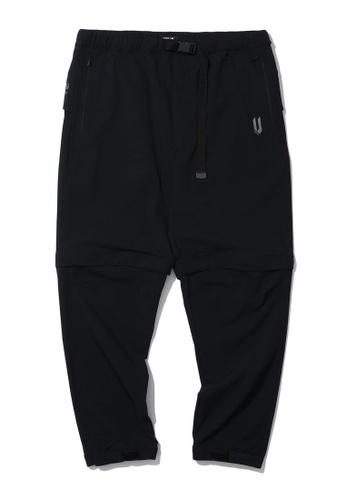 Fivecm black Detachable joggers A7B53AA2B175D0GS_1