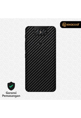 Exacoat Asus Zenfone 6 3M Skins Carbon Fiber Black - Cut Only A92D4ES3EBF1A5GS_1
