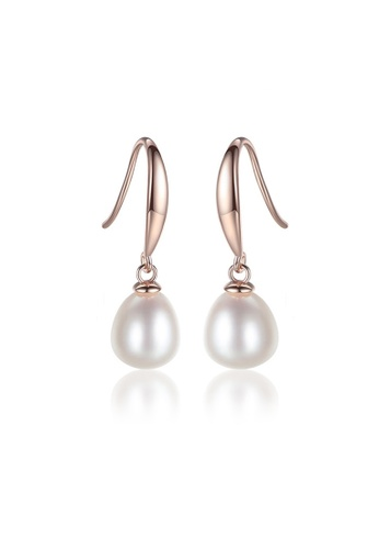 A.Excellence white Premium White Pearl Elegant Earring 1EF68AC21B0AB5GS_1