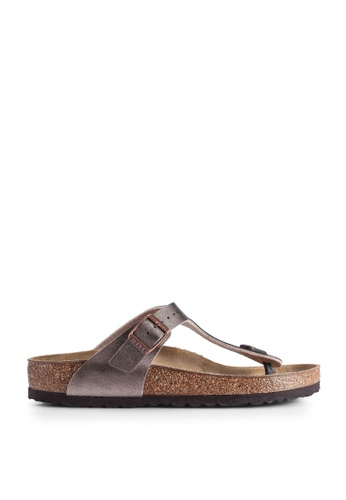 Birkenstock brown Gizeh Graceful Sandals DC8F4SH580FA41GS_1
