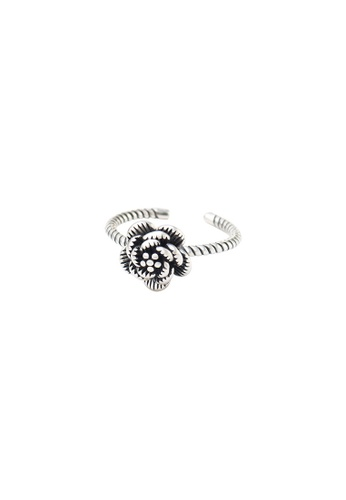 A-Excellence silver Premium S925 Sliver Geometric Ring 72DB9AC02C81DBGS_1
