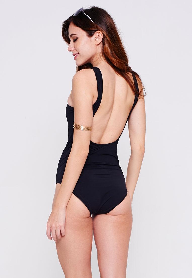 Black Swimsuit One Beachwear Piece Malibu Monaco wqUSx0