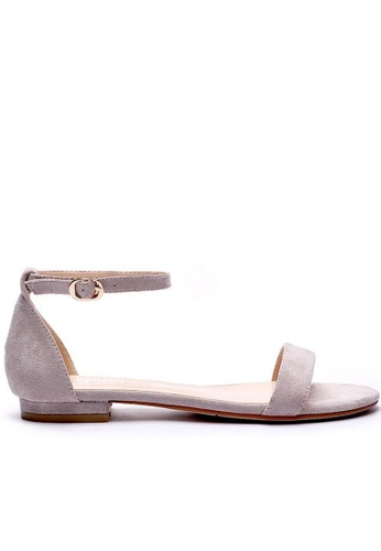 Twenty Eight Shoes Girly Ankle Strap Flat Sandals 6848-18 67463SH908DF6CGS_1