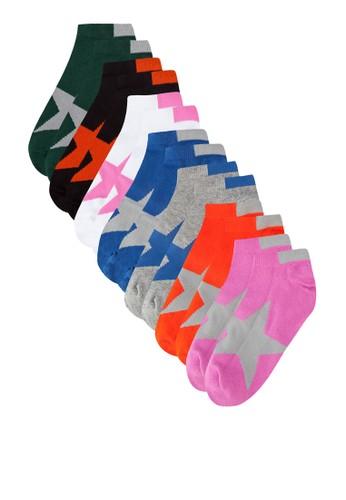 七入星星印花襪子組esprit sg合, 服飾, 男性服飾