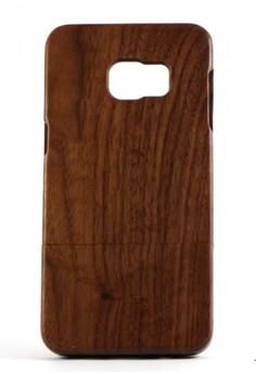 Genuine Wood Full Cover for Samsung S6