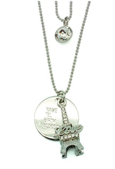 Eiffel Tag Necklace (With Gift Box)