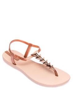 2 Em 1 Flat Sandals