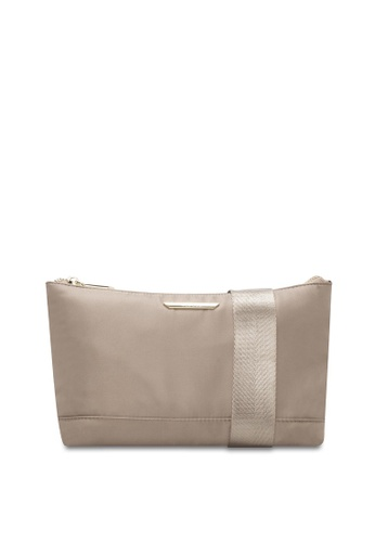 VINCCI beige Shoulder Bag 7558FAC8B0BE30GS_1
