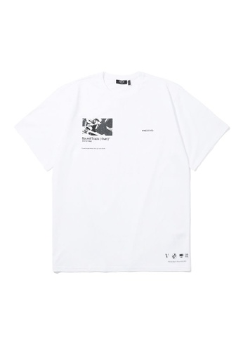 Fivecm white Sound Track tee DCEB6AAE06DDCDGS_1