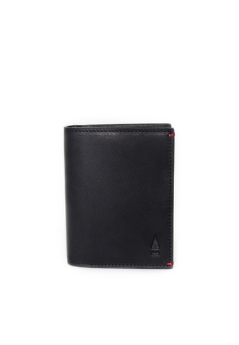 Gnome and Bow black and red Birch Cardholder GN097AC68XWXSG_1