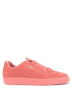 Puma pink Suede Maze Women s Shoes 988A6SH16C0958GS 1 68d7e395f