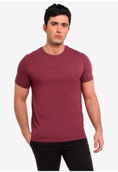 08311b557c2 Burton Menswear London pink Raspberry Pink Marl Crew Neck T-Shirt  2BB8CAAF5DE2E6GS 1