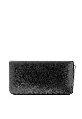 Twenty Eight Shoes black VANSA Top Layer Cowhide Bi-Fold Long Wallet VBU-Wt0629 0DDEBACEFA05DFGS_1