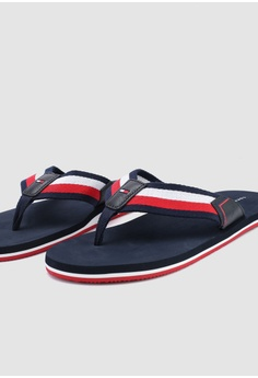 1253e0d661f7 Tommy Hilfiger CORPORATE WEBBING BEACH SANDAL S  79.00. Sizes 42 43 44