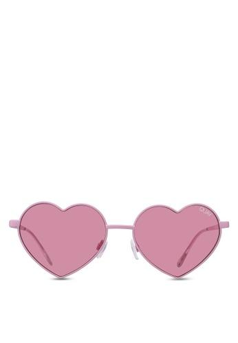 8e404afda4c Shop Quay Australia Heartbreaker Sunglasses Online on ZALORA Philippines